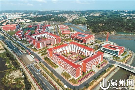 福州大学晋江科教园今秋将迎来首批成建制本科生
