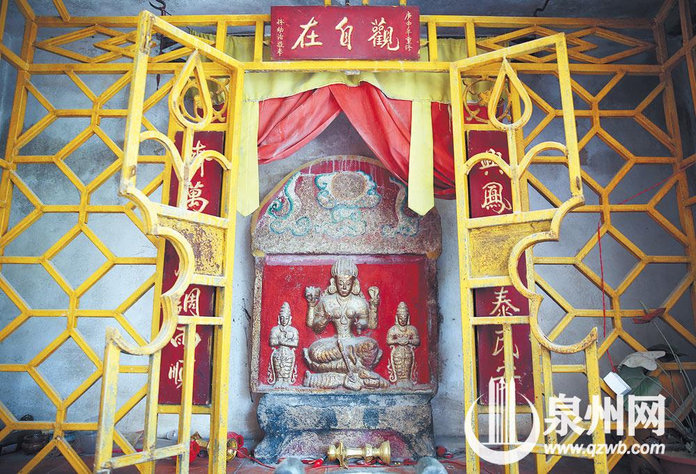 元代印度教湿婆像所在亭是印度教和本土佛教相融合的独特宗教场所