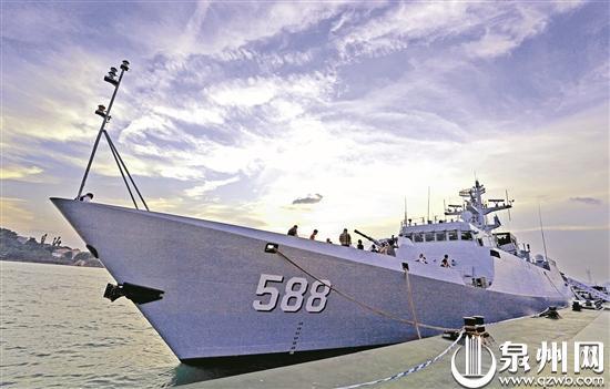 刺桐红连着浪花白 海军泉州舰与泉州市军地共建纪实