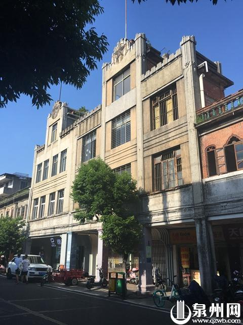 【中山南路】泉州最早的百货商场,是这对耀眼双子楼