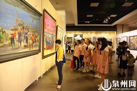庆祝新中国成立70周年 泉州市美术作品展开展