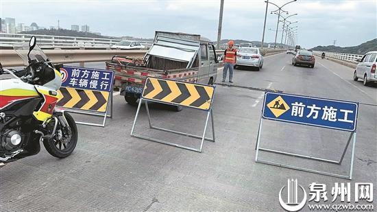 10月22日起后渚大桥管制15天 重中型货车禁止进入