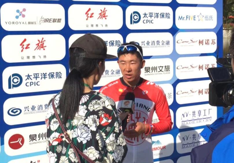 中国车手吕先景夺赛段冠军