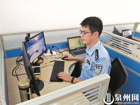 郭志勇经常深夜加班,钻研办案助力软件。