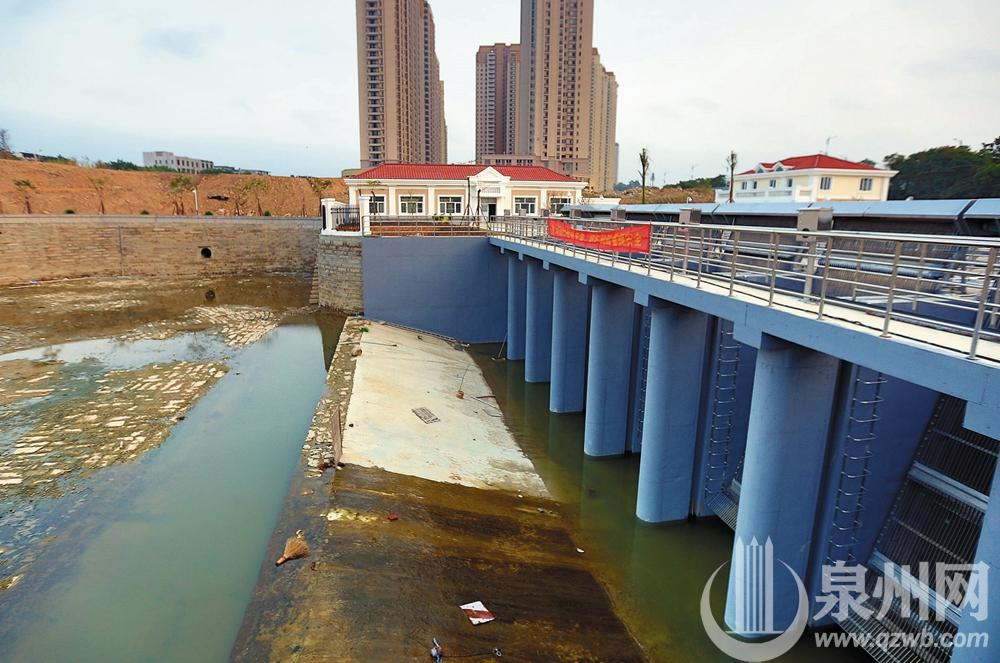 北峰丰州片区滞洪排涝系统一期工程进入扫尾阶段