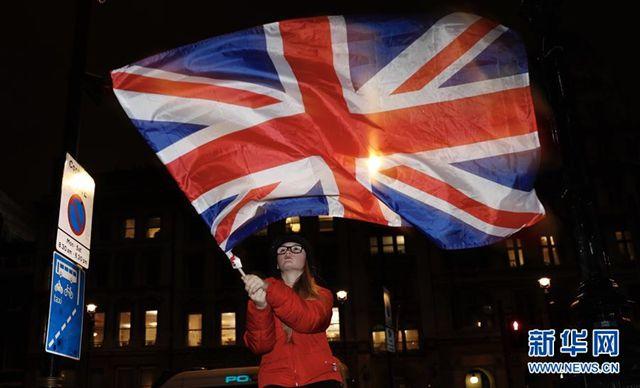 """英国正式""""脱欧"""" 欧盟历史性减员"""