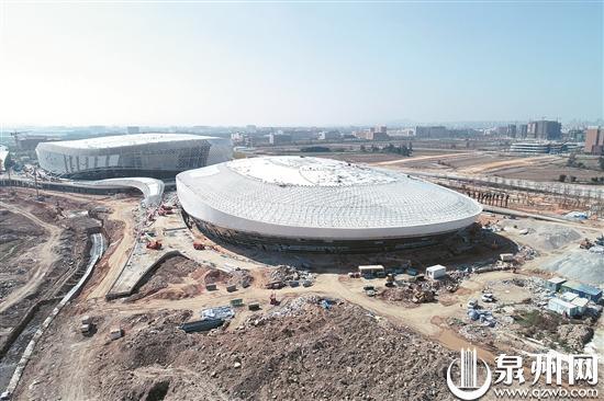 防控疫情与项目建设两手抓 晋江市第二体育中心3月底竣工