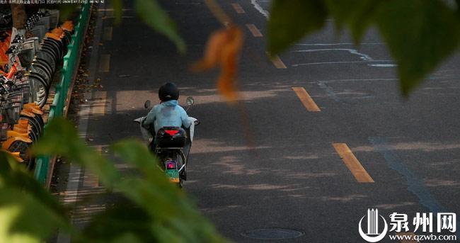 泉州市区使用电子监控自动抓拍电动自行车违法