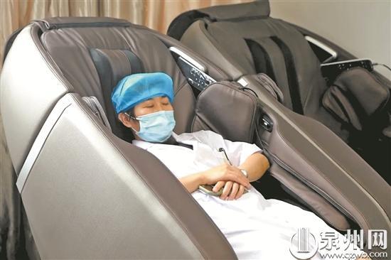 """暖心!鲤城区首家""""医生休息室""""在江南医院正式揭牌投用"""