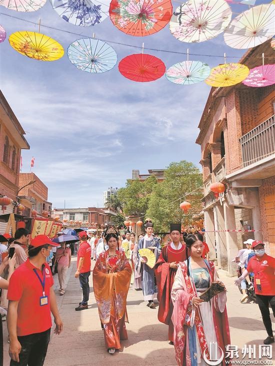 洛阳桥文明旅游志愿服务活动举行  展现古桥古韵新风