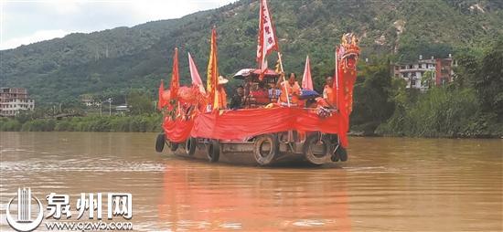 """永春县东关镇东关村:溪上""""游龙舟""""  已有500多年历史"""