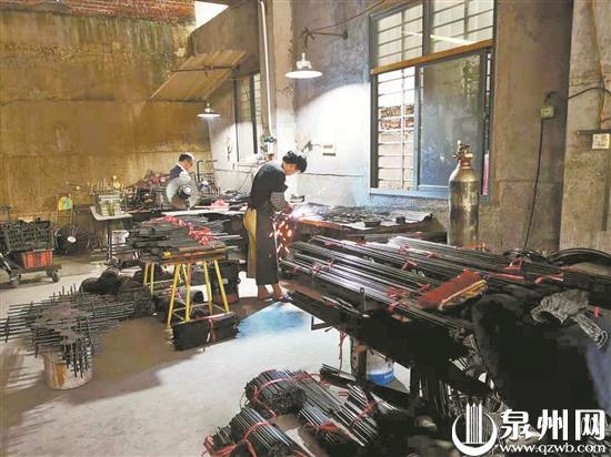 一村上百户村民个个是厂长 安溪铁艺电商助力乡