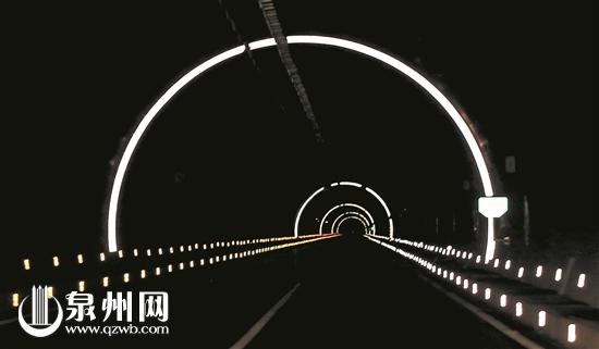 体验厦沙高速泉州段:风景好隧道多 开车需要谨慎