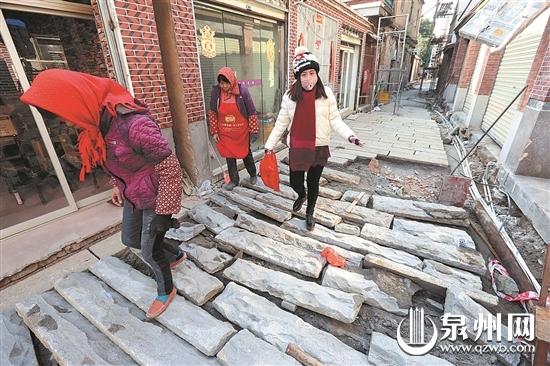 金鱼巷将铺设石板路