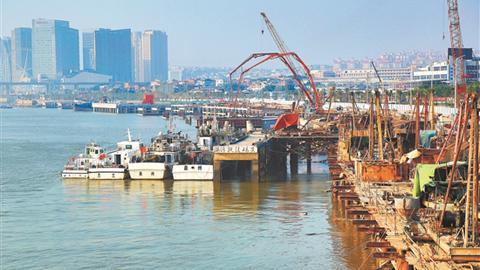 蟳埔渔人码头今年有望完工