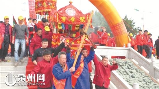 """洛江虹山举行传统民俗祈福 讨新年""""好兆头"""""""