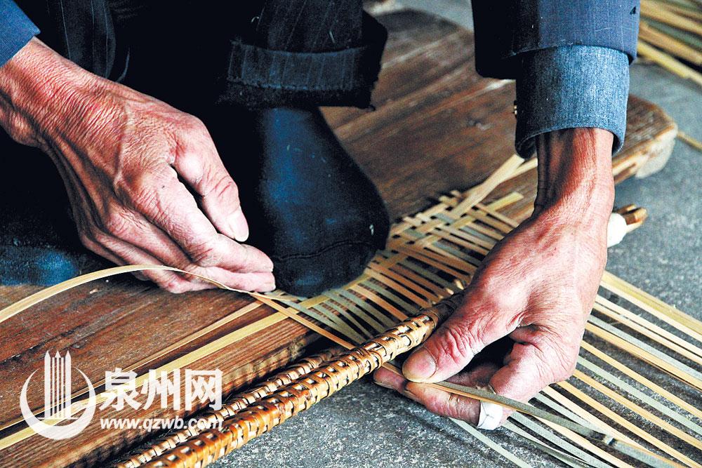 编制竹编,编织人生。