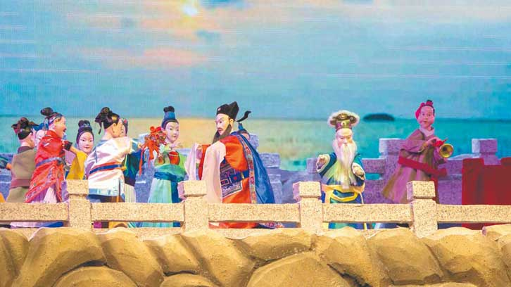 《洛阳桥传说》剧照