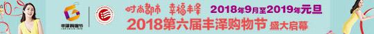 2018第六届丰泽购物节