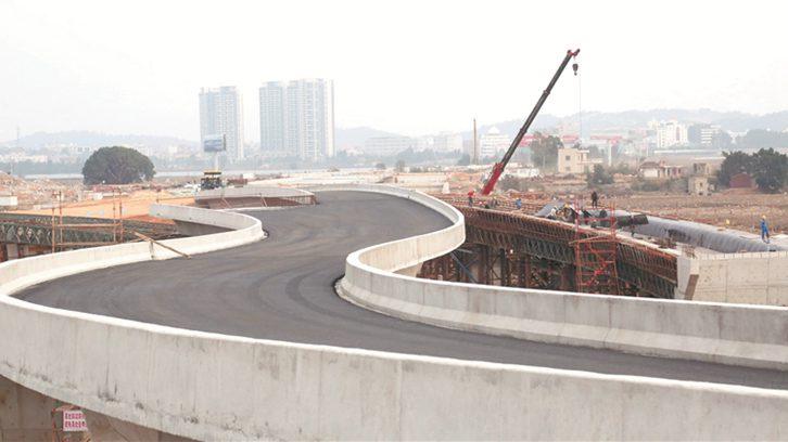 后渚大桥东桥头互通 有望7月份建成通车