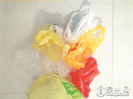 生活中塑料袋无所不在