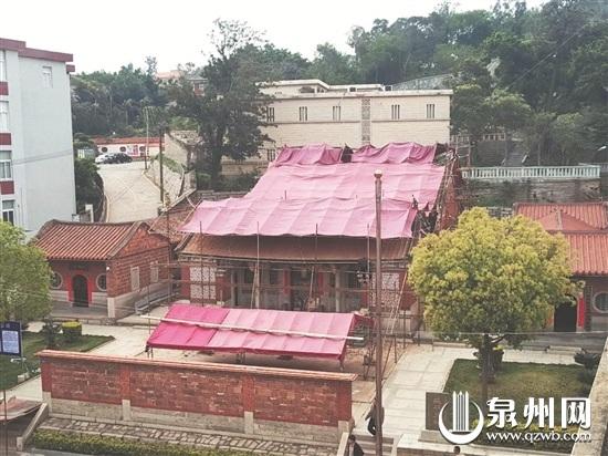 延平王祠进行30多年来首次大修