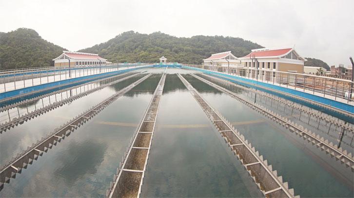 泉州金鸡水厂 (一期)工程竣工